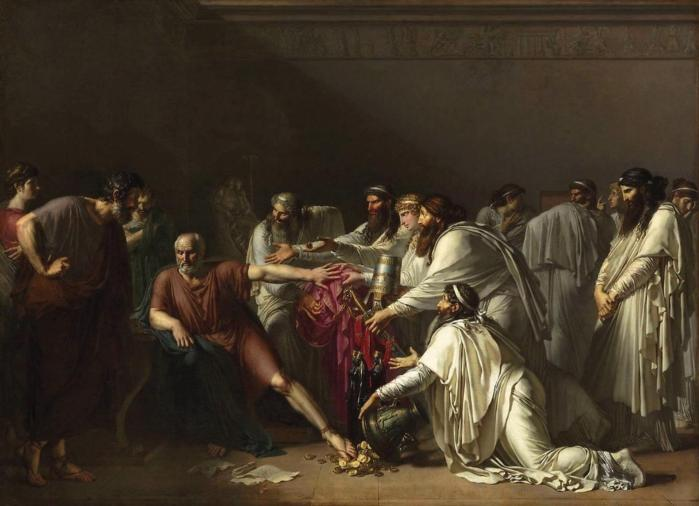 Hippocrates Refusing the Gifts of Artaxerxes 1792